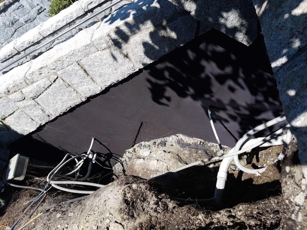 waterproof concrete foundations