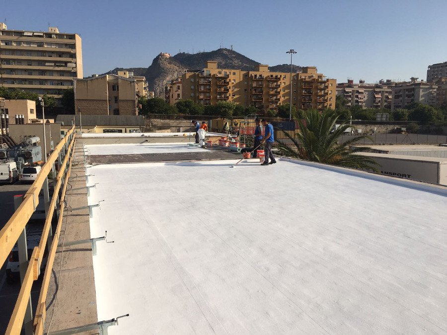 Characteristics of the membrane to waterproof a roof