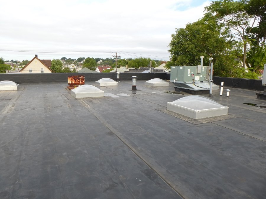 EPDM roof waterproofing