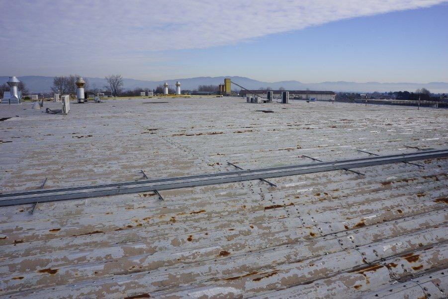 Impermeabilizzazione di un vecchio tetto piano