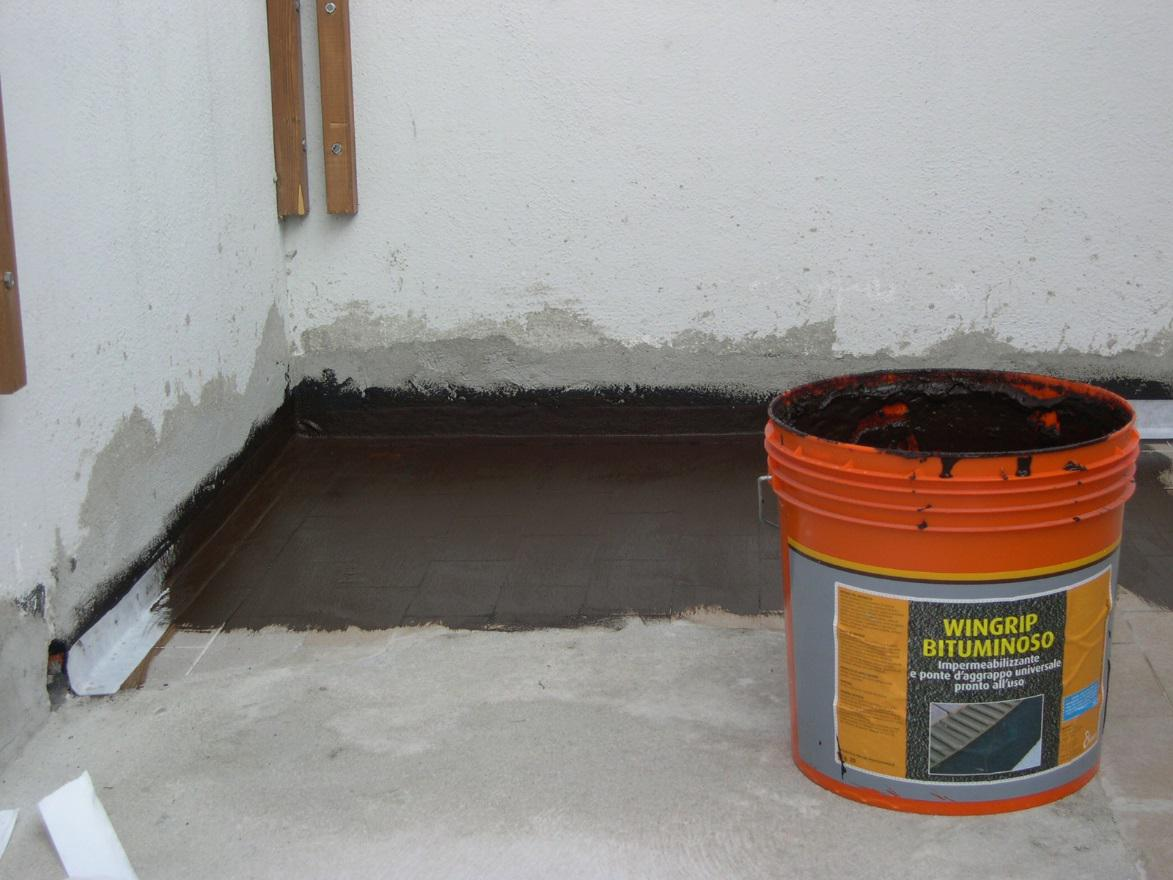 Waterproofing Of A Balcony Or Terrace