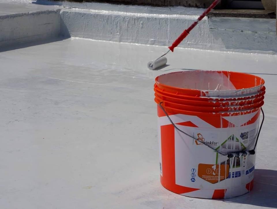 impermeabilizzazione di un tetto