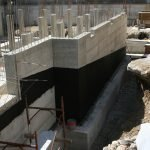 concrete foundation waterproofing